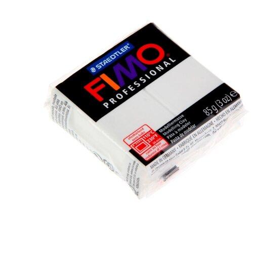Полимерная глина FIMO Professional запекаемая 85 г белый (8004-0)Глина<br>
