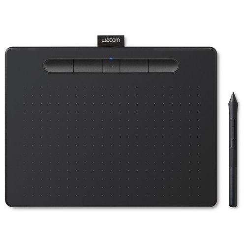 Графический планшет WACOM Intuos S (СTL-4100K-N) черныйГрафические планшеты<br>