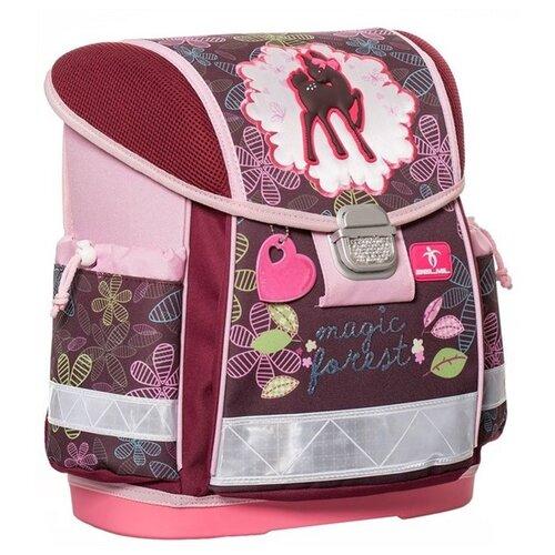 Купить Belmil Ранец Magic Forest (403-13/403), бордовый/розовый, Рюкзаки, ранцы