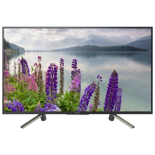 Телевизор Sony KDL-49WF804 48.5 (2018) черный жк телевизор sony kd 65zd9
