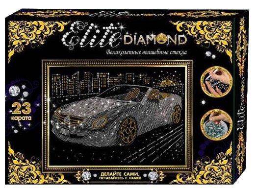 Лапландия Набор алмазной вышивки Картина из страз Elite Diamond Автомобиль (45719)
