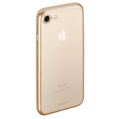 Чехол Deppa Gel Plus Case (матовый) для Apple iPhone 7/iPhone 8 золотой deppa fifa казань чехол для apple iphone 7 8 plus blue