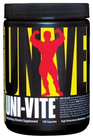 Минерально-витаминный комплекс Universal Nutrition Uni-Vite (120 капсул)