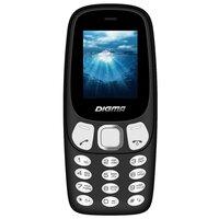 """Мобильный телефон Digma N331 mini черный 1.77"""""""