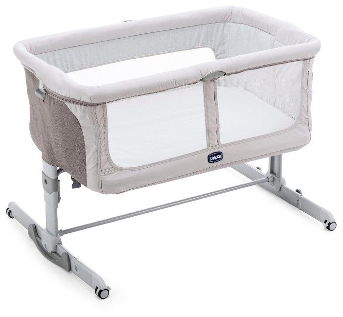 Детская кроватка Chicco Next 2 Me Dream, 07079445820000, голубой, 82,5 х 92 х 68 см