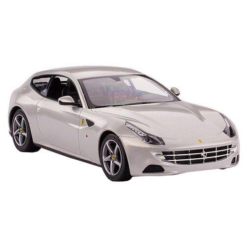 Легковой автомобиль Rastar Ferrari FF (46700) 1:24 19 см серебристый цена 2017