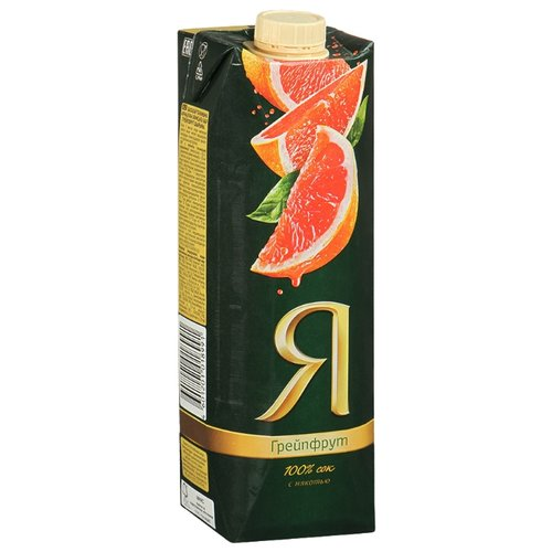 Сок Я Грейпфрут, с крышкой, без сахара, 0.97 лСоки, нектары, морсы<br>