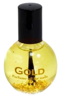 Масло JessNail для ногтей и кутикулы c сусальным золотом Gold