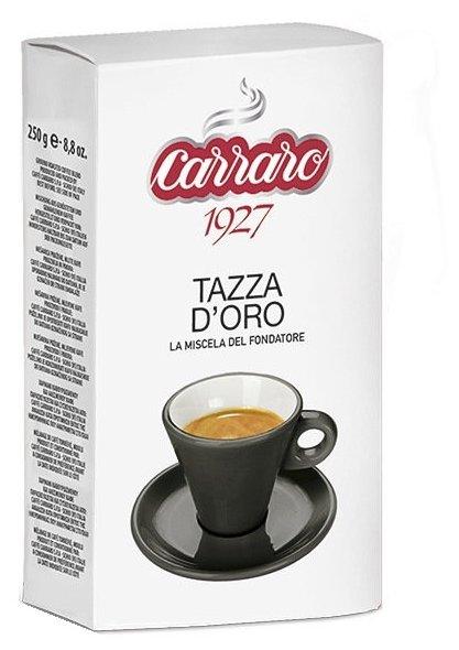 Кофе молотый Carraro Tazza D` Oro