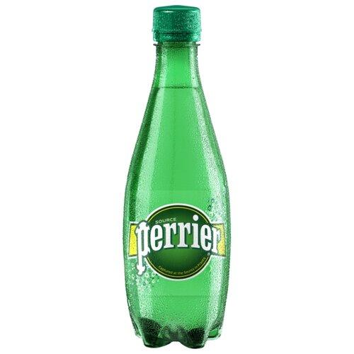Минеральная вода Perrier газированная, ПЭТ, 0.5 лВода<br>