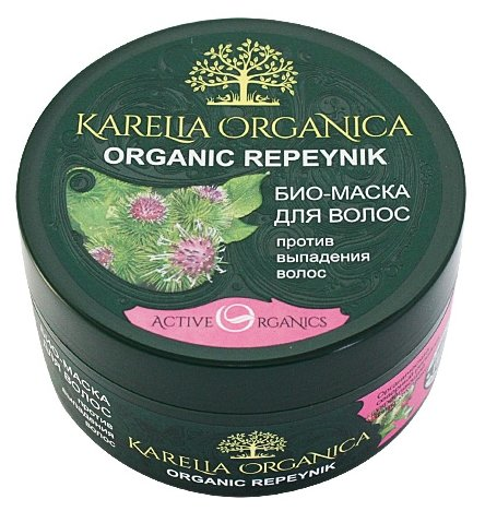 Karelia Organica Био-маска для волос «Organic Repeynik» против выпадения волос