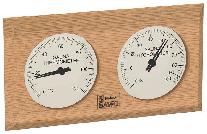 Термогигрометр SAWO 221-THED (Кедр (D), 255x140 мм)