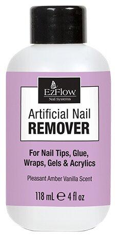 EzFlow Жидкость для снятия искусственных ногтей Artificial Nail Remover