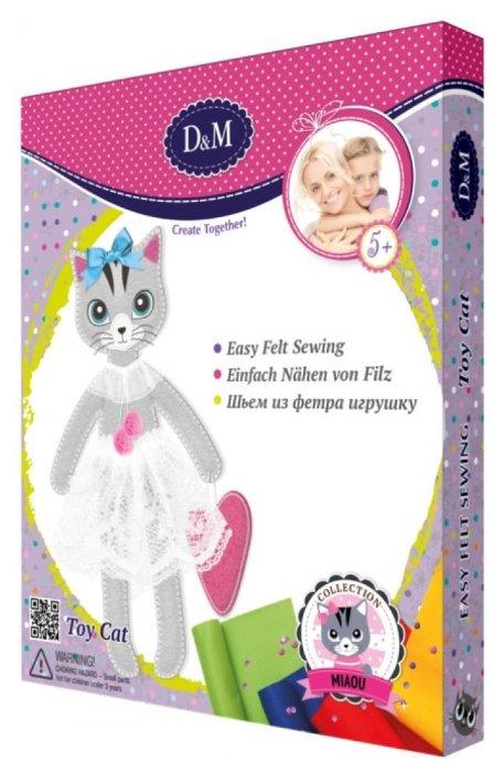 D&M Шьем из фетра игрушку Кошка Алиса (65679)