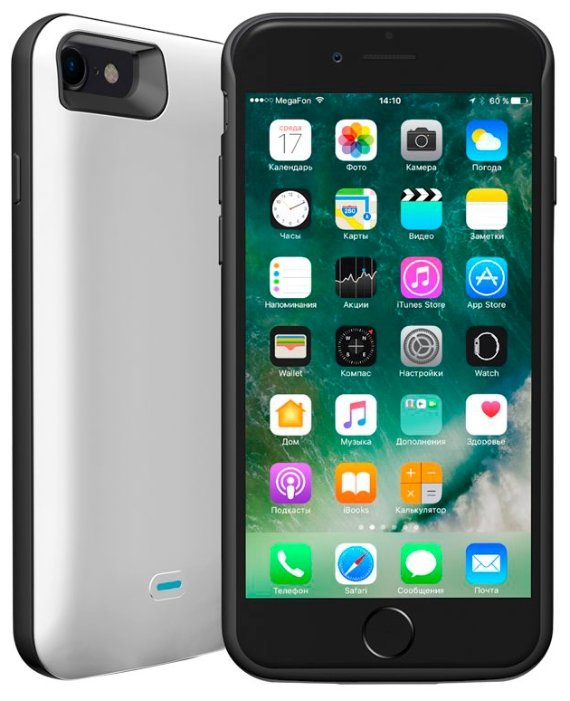 Чехол-аккумулятор Deppa NRG Case (33520) для Apple iPhone 7/iPhone 8