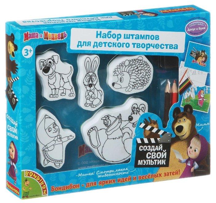 BONDIBON Набор для творчества Досуг с Буки Маша и Медведь (ВВ1328)