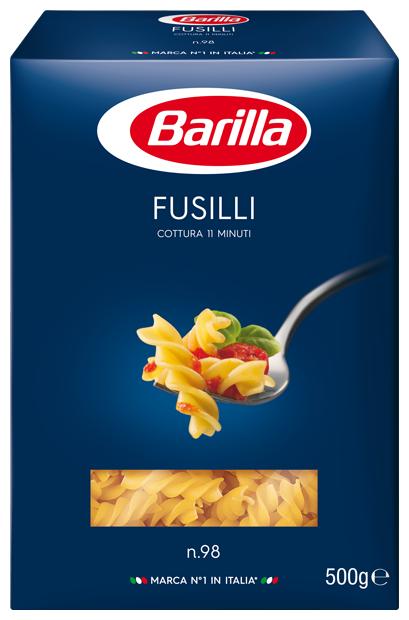 Barilla Макароны Fusilli n.98, 500 г