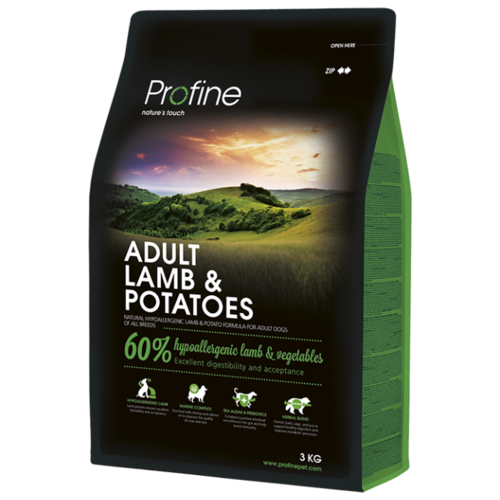 Корм для собак Profine (3 кг) Adult Lamb & Potatoes