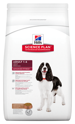 Корм для собак Hill's Science Plan Canine Adult Advanced Fitness Large Breed Lamb & Rice