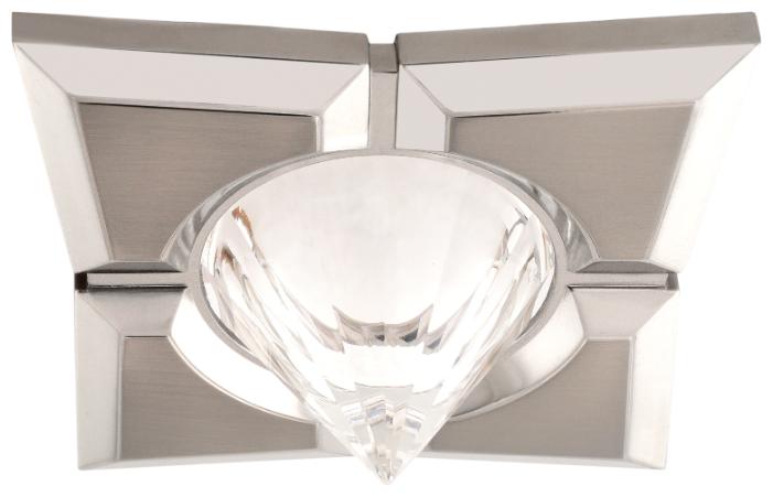 Встраиваемый светильник De Fran 16159 GQ, сатин-никель / хром