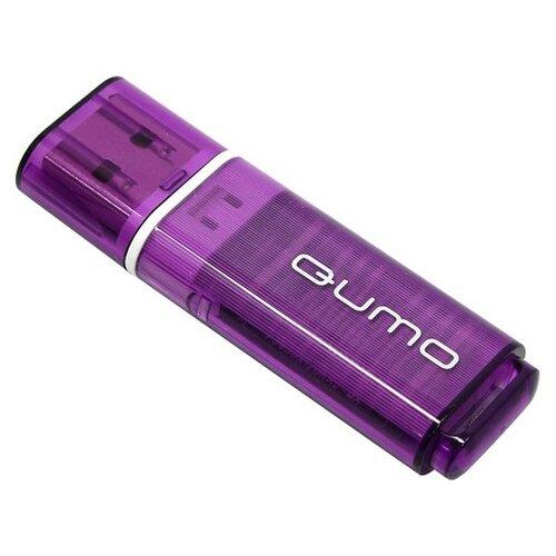 Фото - Флешка Qumo Optiva OFD-01 8Gb 8 ГБ, фиолетовый флешка qumo optiva ofd 02 16gb розовый 1 шт