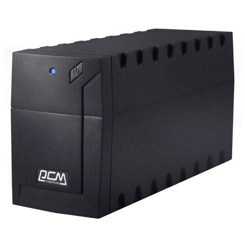 Фото - Интерактивный ИБП Powercom RAPTOR RPT-600A черный интерактивный ибп powercom raptor rpt 1000a черный