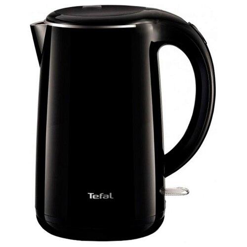 Чайник Tefal KO 2608 Safe to touch, черный чайник tefal ko371 i30 safe to touch 2200 вт чёрный бежевый 1 5 л металл пластик