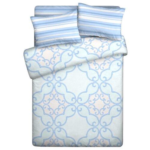 Фото - Постельное белье 1.5-спальное Guten Morgen Сканди 813 поплин, 70 х 70 см постельное белье 2 спальное макси guten morgen 884 поплин 70 х 70 см голубой белый