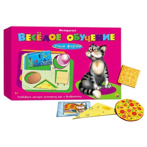 Настольная игра Рыжий кот Веселое обучение. Учим формы ИН-1010 настольная игра рыжий кот союзмультфильм ну погоди ин 5027
