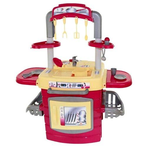 цена на Кухня Palau Toys большая №1 56818 красный/желтый/серый