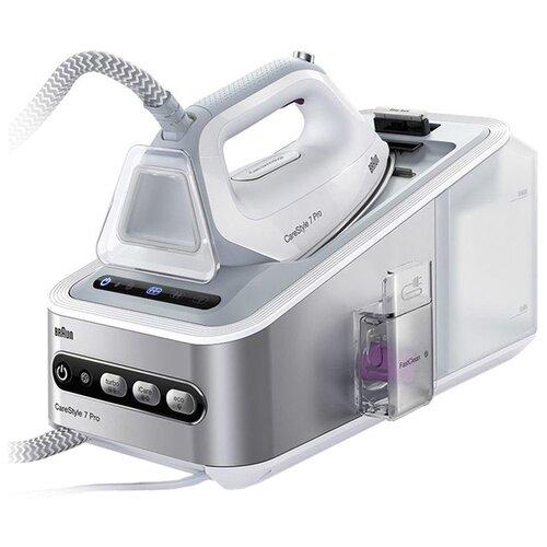 Парогенератор Braun IS 7155 WH белый/серый