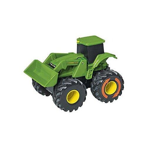 Купить Трактор Tomy Monster Treads (37650-2) 10 см зеленый, Машинки и техника