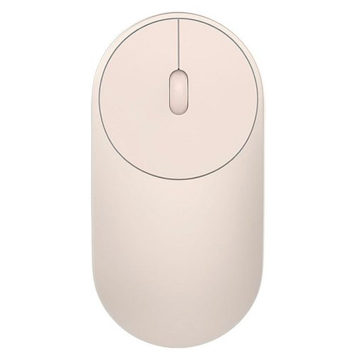 цена на Мышь Xiaomi Mi Portable Mouse Gold Bluetooth