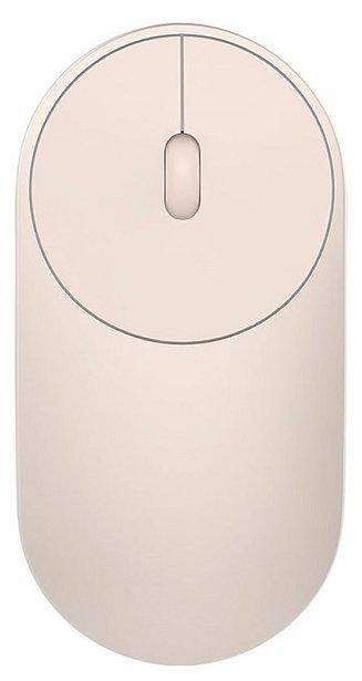 Беспроводная мышь Xiaomi Mi Portable Mouse Gold Bluetooth — купить по выгодной цене на Яндекс.Маркете