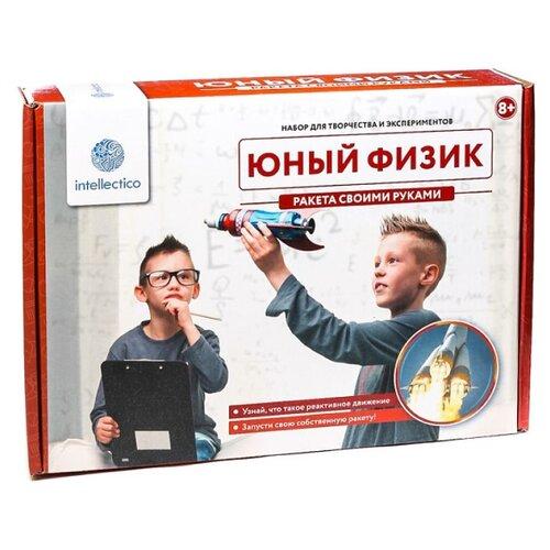 Купить Набор Intellectico Юный физик. Ракета своими руками (207), Наборы для исследований