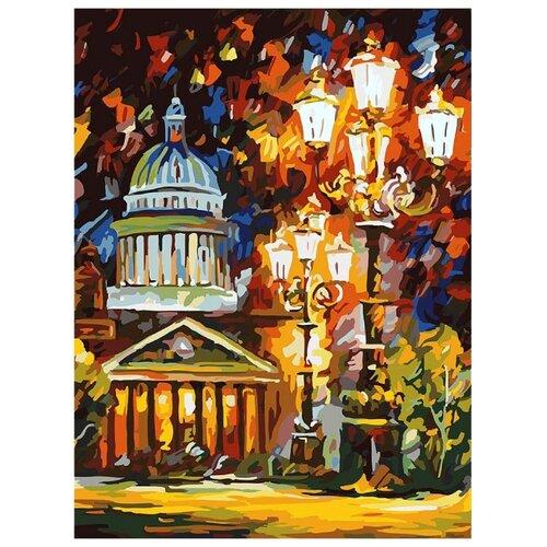 Купить Белоснежка Картина по номерам Мерцание ночи Санкт-Петербурга 30х40 см (025-AS), Картины по номерам и контурам