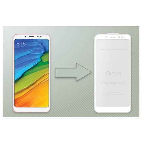 Купить Защитное стекло Ainy Full Screen Cover AF-X1217A/B для Xiaomi Redmi Note 5 белый