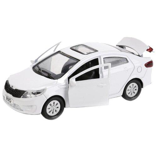 Купить Легковой автомобиль ТЕХНОПАРК Kia Rio (RIO-MIX) 12 см белый, Машинки и техника