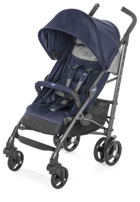 Прогулочная коляска Chicco Lite Way Top Stroller india ink