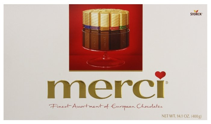 Набор конфет Merci Ассорти 400 г