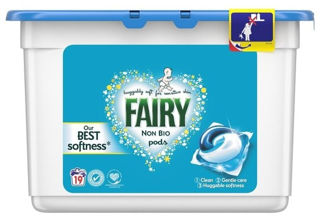 Капсулы Fairy 3in1 Pods Non Bio