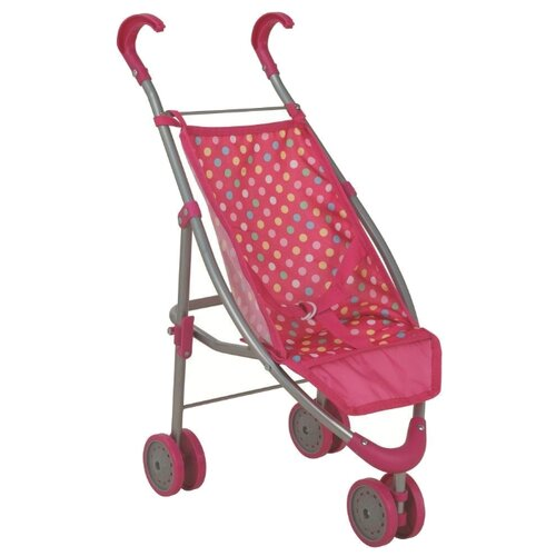 Купить Прогулочная коляска Buggy Boom Mixy 8022 розовый/горошек, Коляски для кукол
