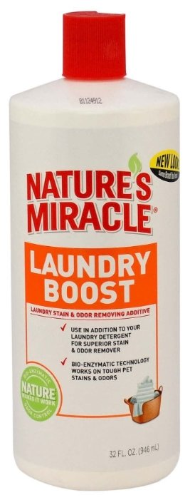 Гель для стирки 8 In 1 Natures Miracle Laundry Boost
