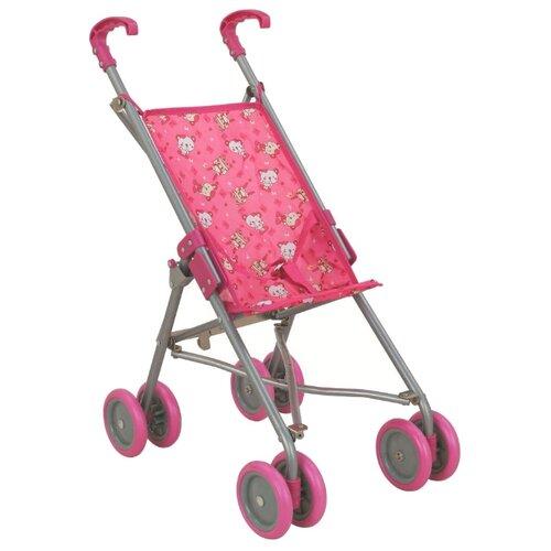 Купить Прогулочная коляска Buggy Boom Amidea (8561) розовый/мишки, Коляски для кукол