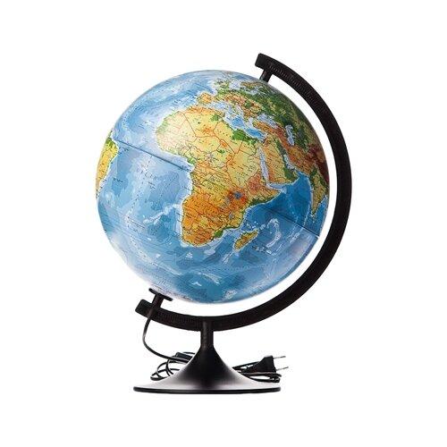 Глобус физико-политический Globen Классик 320 мм (К013200101) черный