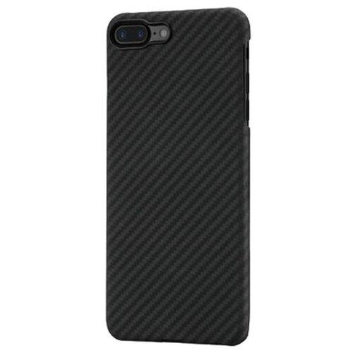 Чехол-накладка Pitaka MagCase (арамид) для Apple iPhone 7 Plus/8 Plus Black/Grey Twill аксессуар чехол neypo soft touch для apple iphone 8 plus 7 plus black st02111