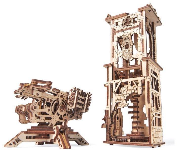 Сборная модель UGEARS Башня-аркбаллиста,,
