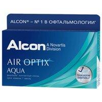 Ежемесячные линзы Air Optix Aqua 6 pk