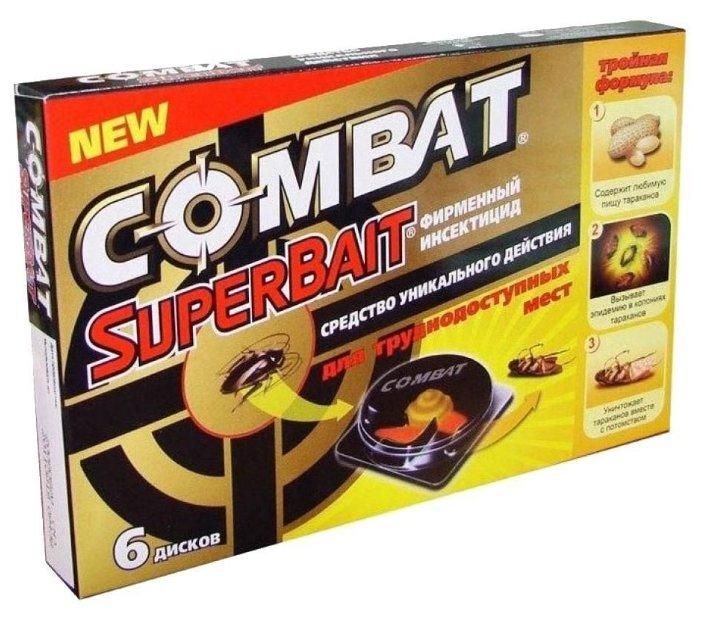 Ловушка Combat SuperBait от тараканов (4 шт.)