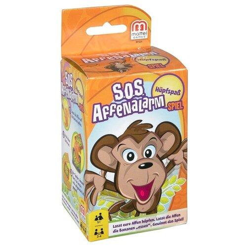 Купить Настольная игра Mattel Обезьянка-акробат для путешествий BFV24, Настольные игры